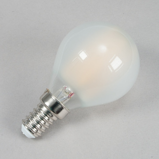 E14 Tropfen LED matt