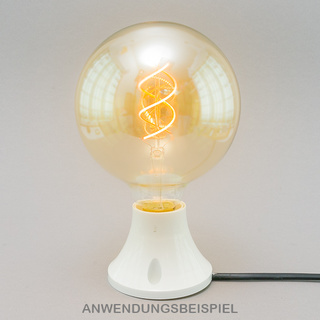 E27 Spiral-LED Globe-125 gold 5W dimmbar