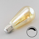 E27 LED Edisonlampe goldlicht dimmbar